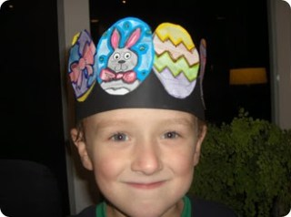 Easter early play templates for Easter bonnets templates