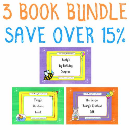3 book bundle save 20 percent