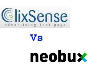 Clixsense vs Neobux
