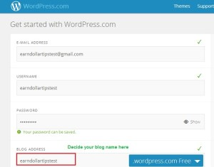 wordpress blog setup - create a wordpress blog