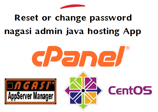 how to reset or how to change password for nagasi admin java hosting application 2
