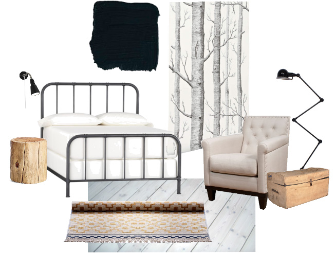 A Case For Black Walls Earnest Home Co