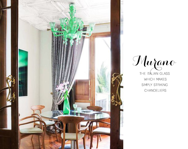 House of Earnest - Green Murano