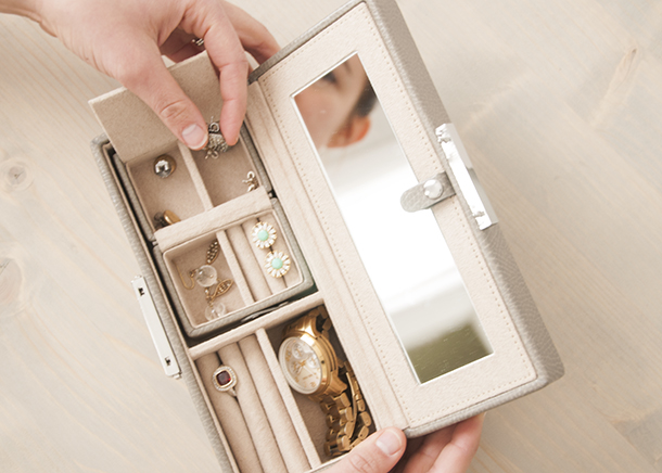 travel jewelry case - house of earnest