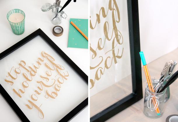 Gilded Gold Handmade Art 2- House of Earnest