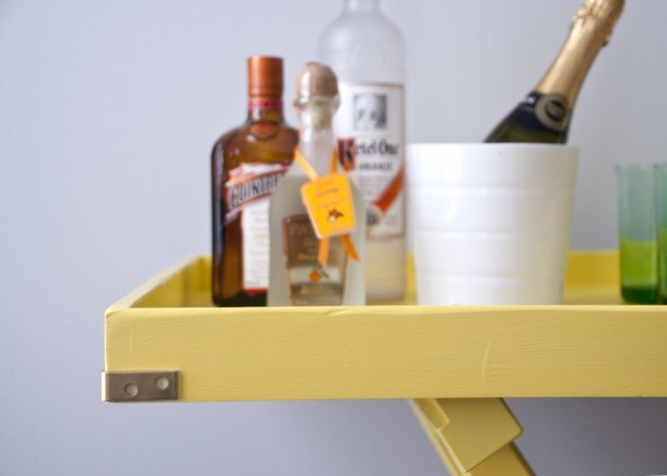 bar table yellow - house of earnest