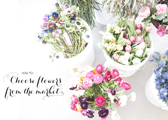 how to choose flowers for an arrangement