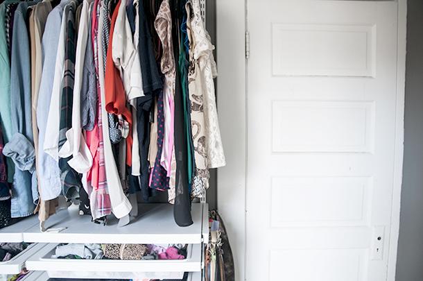 linen closet - before