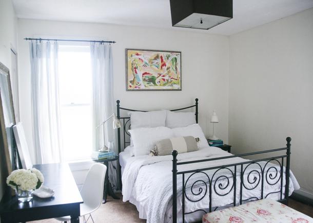 light bright airy bedroom