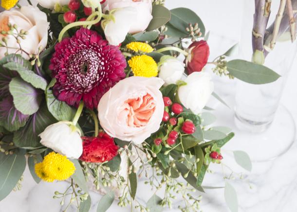 fall bridal flowers