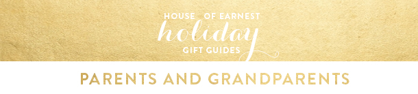 gift guide header - parents