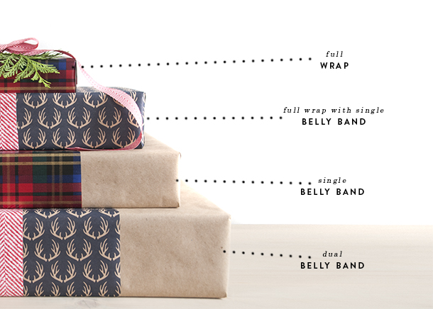 gift wrap - varieties