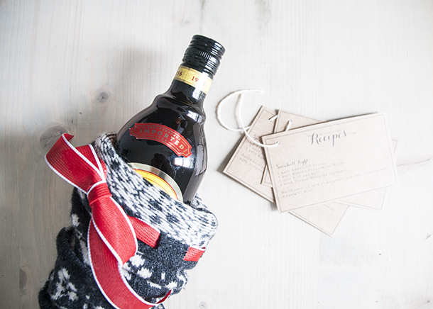kahlua holiday gift and recipe cards