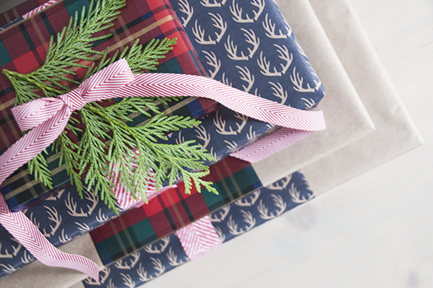 lower cost gift wrap