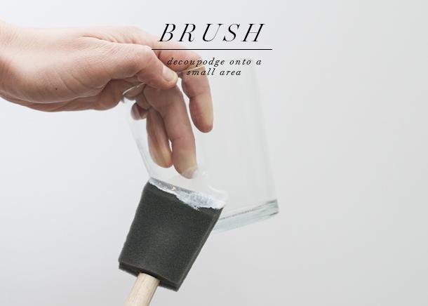 diy foil glasses dishwasher safe - step 2