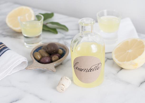 authentic limoncello