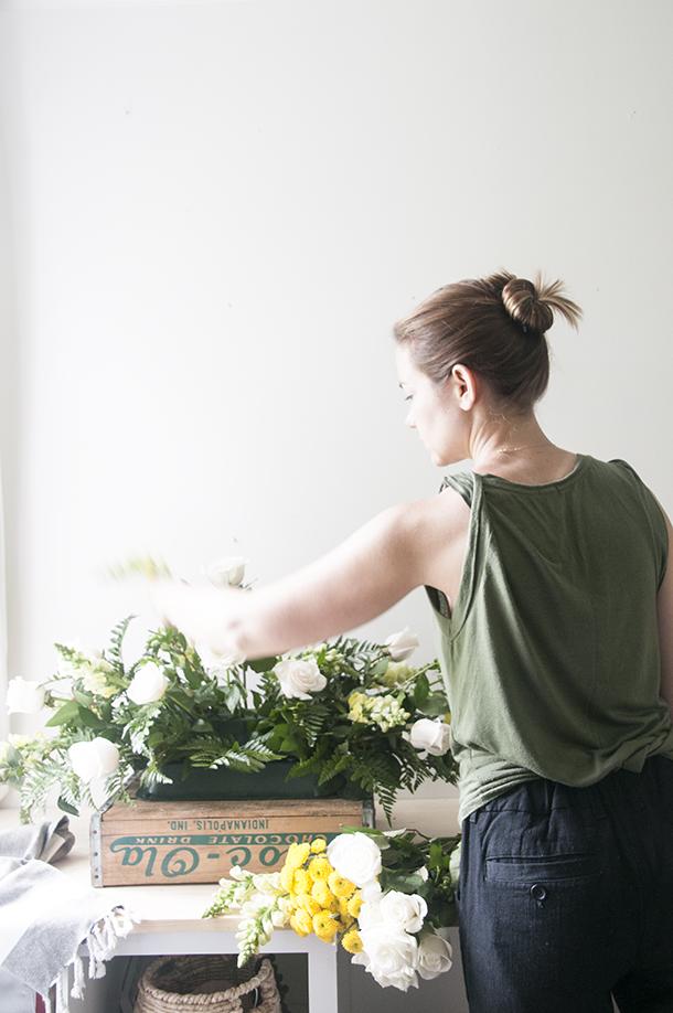 casket floral