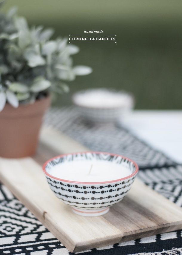 Why Your Citronella Candles Don T Work Earnest Home Co