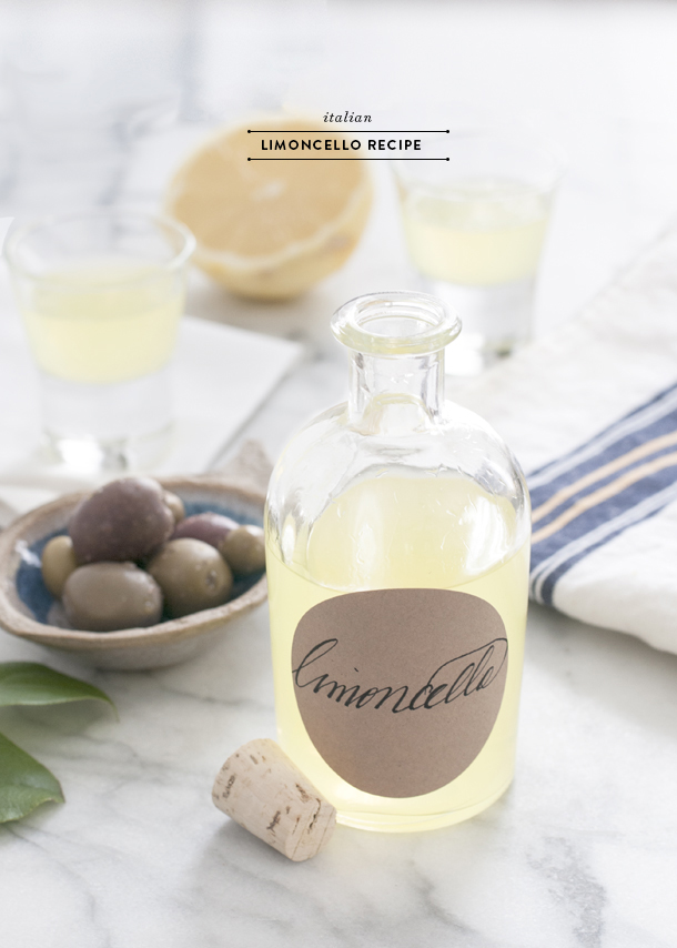 Ciao Bella Italian Limoncello Recipe Earnest Home Co