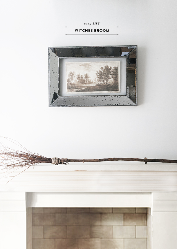 easy diy witch broom