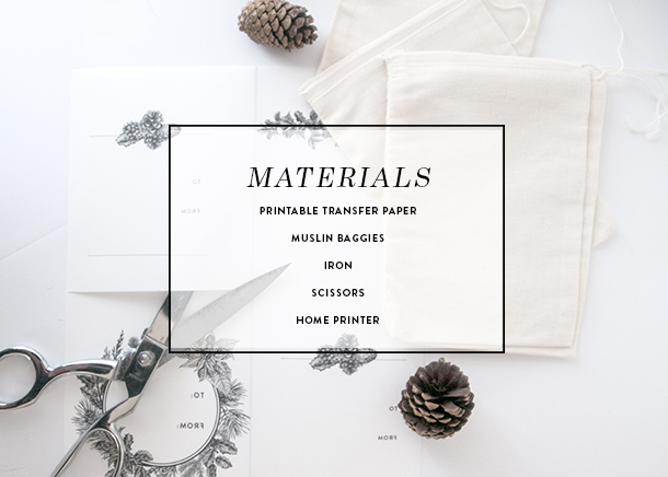 materials for wrapping gift cards