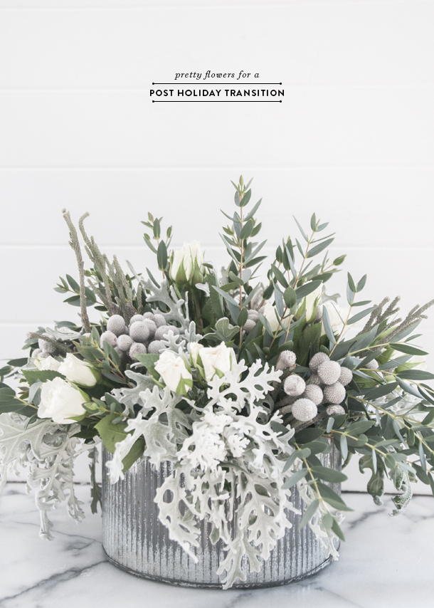 Pretty post holiday flowers for the home earnest home co winter flower ideas mightylinksfo