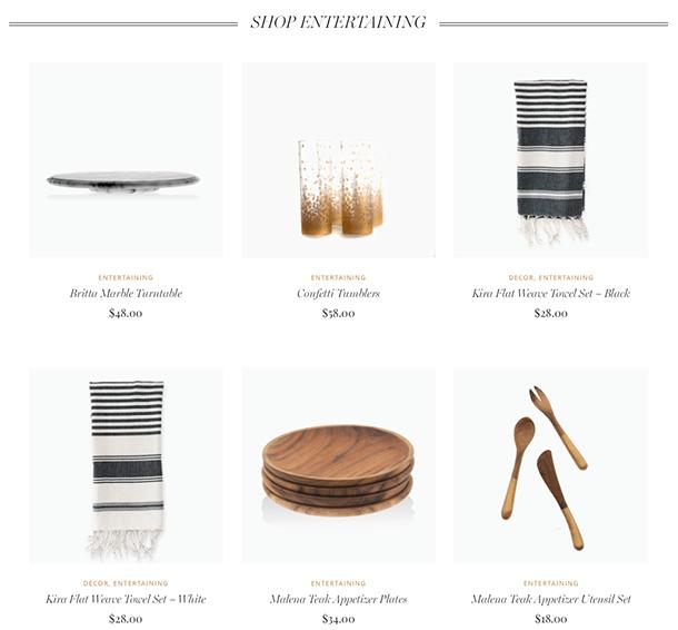 shop categories