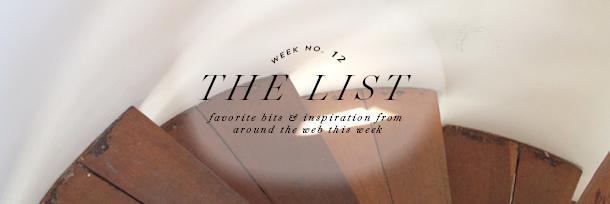 the list header wk12