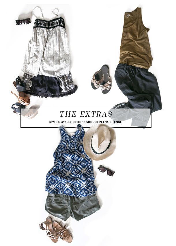 extra outfits