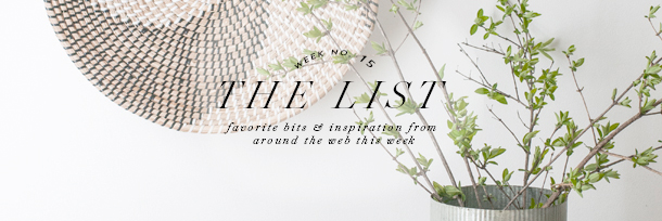 the list header wk15