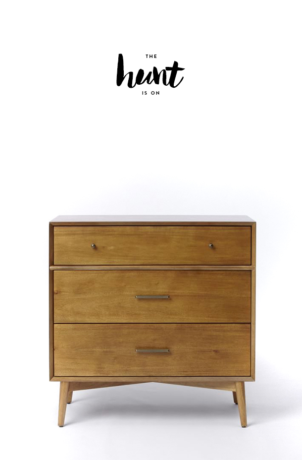 the hunt - nursery dresser