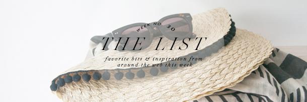 the list header wk30