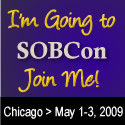 I'm going to SOBCon badge