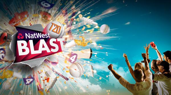 Natwest ECB 2016 T20 central creative. Earnie creative design