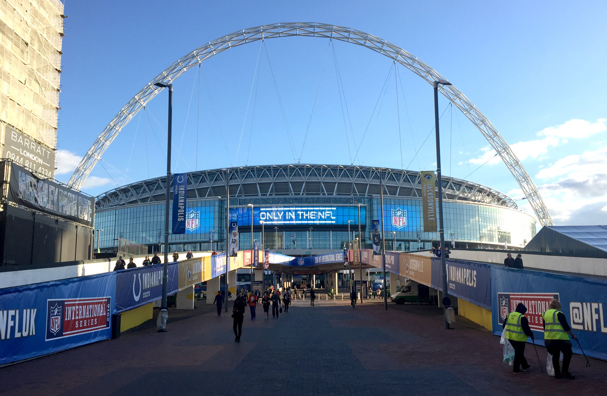 NFL Wembley. Earnie creative design