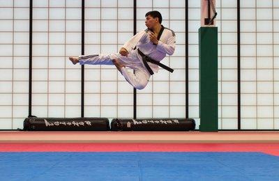 Taekwondo. Earnie