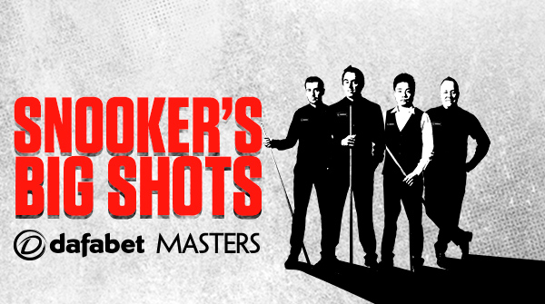 World Snooker Dafabet Masters landscape creative featuring Ronnie O
