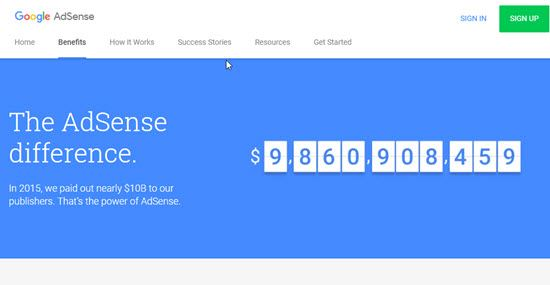 Google Adsense CPM Ad Network