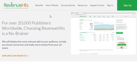 RevenueHits CPM Advertising