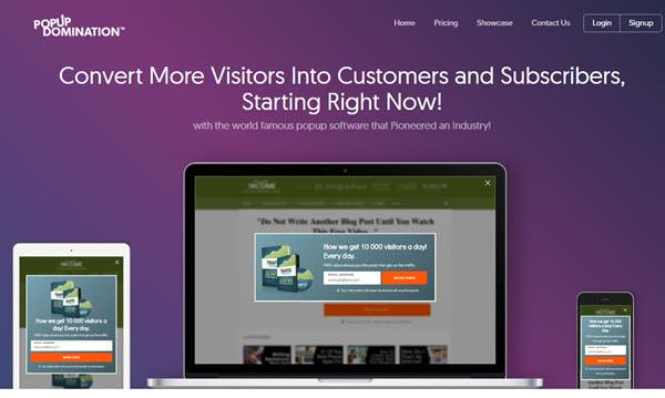 Popup Domination Email Subscription Popup Plugins