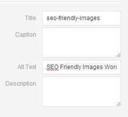 WordPress Image Information