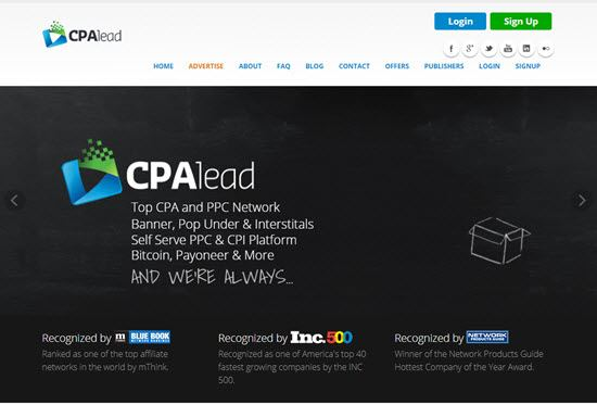 CPA Lead Top CPA Network