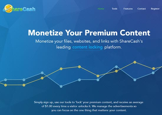 ShareCash PPD Site - Pay Per Download