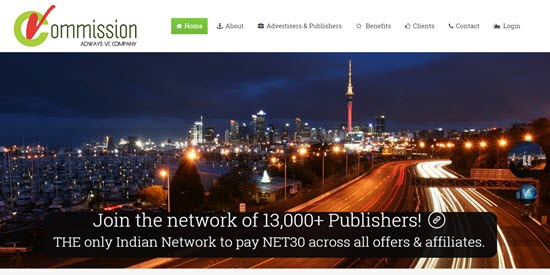 Indian Affiliate Networks