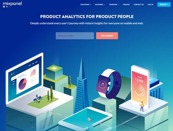 Mixpanel Web Analytics Software