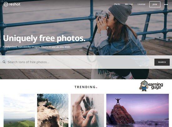 Reshot free royalty free images