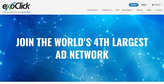 ExoClick Google Adsense Alternatives