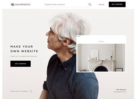 Squarespace Blogging Site