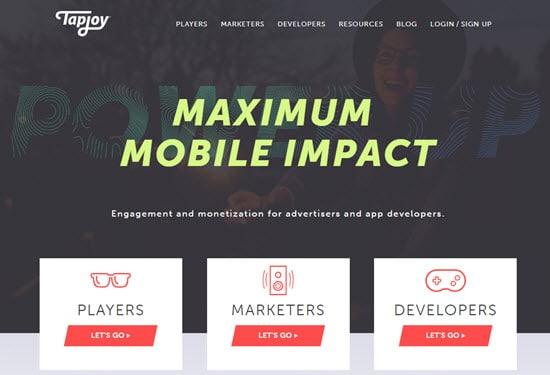 Tapjoy Mobile Ad Networks