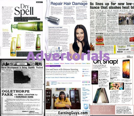 What is an Advertorial